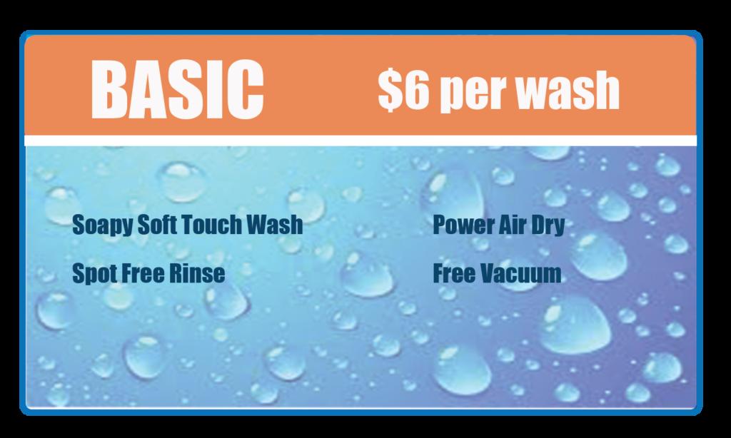 Basic wash