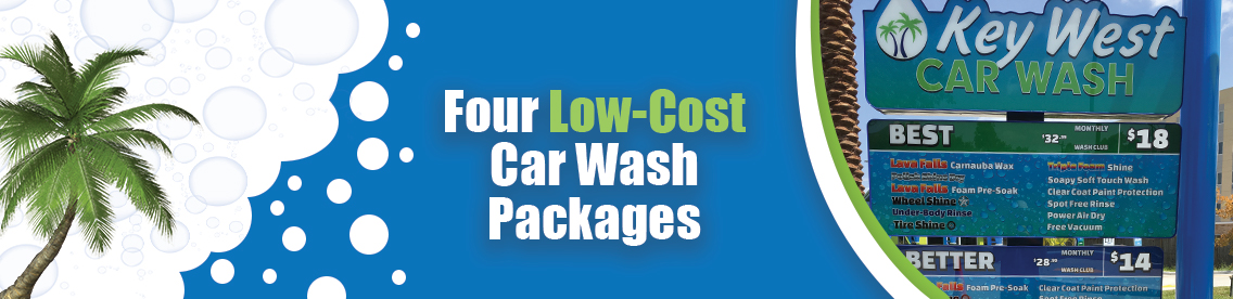Four Wash Packages