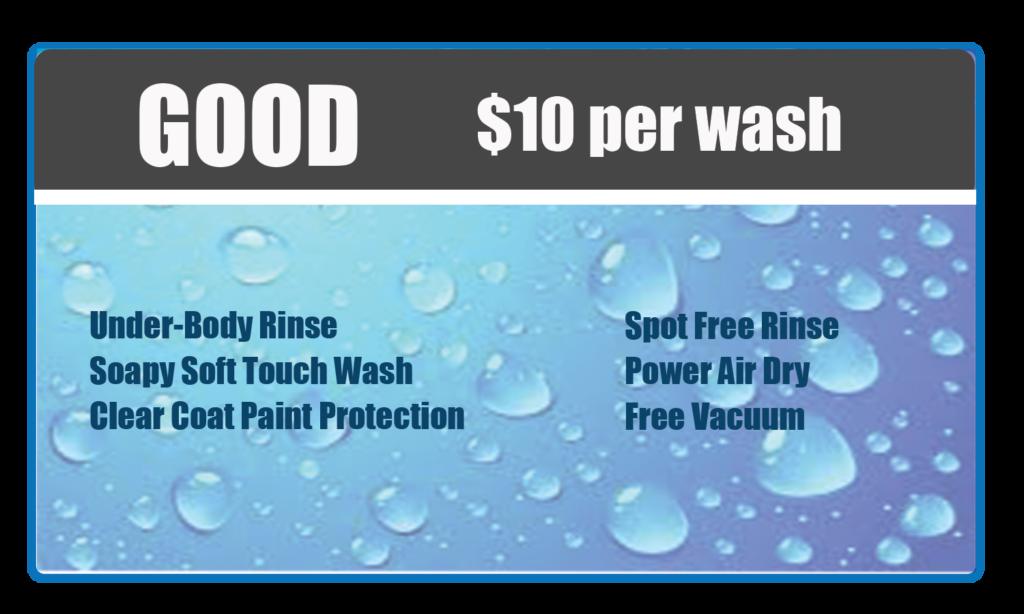 Good wash